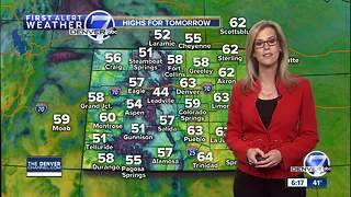 Denver Weather: Mild now, but turning sharply colder next week - Video