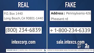 Fake website lures victims through social media ads