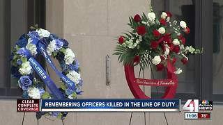 KCPD remembers fallen officers killed in the line of duty - Video