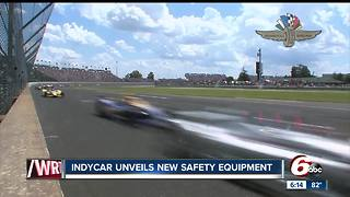 New goggles test helps determine if IndyCar drivers have suffered a concussion - Video