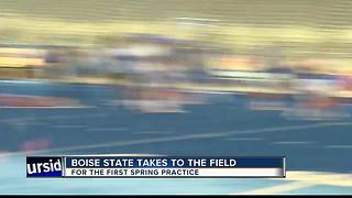 Spring Practice begins for Boise State - Video