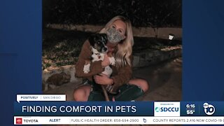 Woman says pet adoptions have saved her 2020