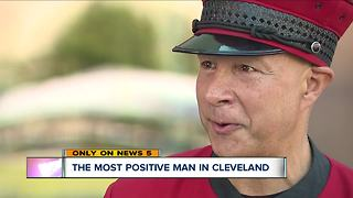 Meet the most positive man in Cleveland - Video