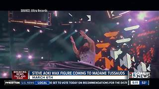 DJ Steve Aoki to get wax figure at Madame Tussauds Las Vegas - Video