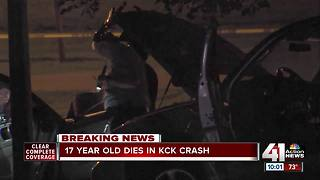 Police: 17-year-old killed in KCK crash - Video