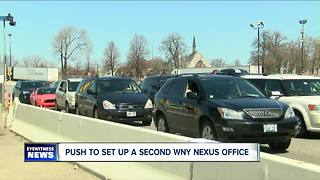 New federal push to make border travel easier - Video
