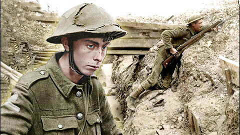 What It Was Like To Be A Trench Soldier In WW I