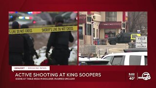 Boulder King Soopers shooting: A timeline of events