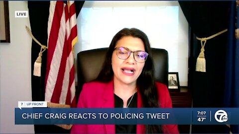 Tlaib speaks on COVID-19 and other issues in 7 UpFront