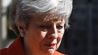 Prime Minister Theresa May officially steps down