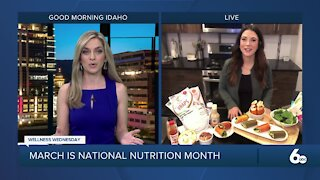 Wellness Wednesday: March is National Nutrition Month