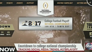 Countdown to College National Championship - Video