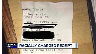Jet's apologizes after metro Detroit customers labeled as 'White Trash' on receipt