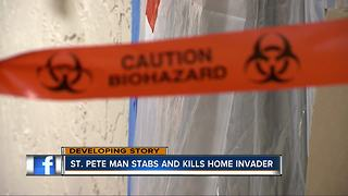 St. Pete man stabs and kills home invader - Video