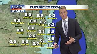Wind chills near zero, snow possible Friday - Video