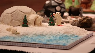 The World's Largest Gingerbread Competition! - Video