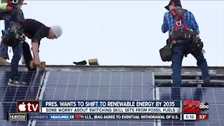 A switch to renewable energy could present more job opportunities, analysts say