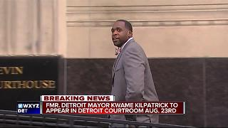 Kwame Kilpatrick returning to Detroit courtroom - Video