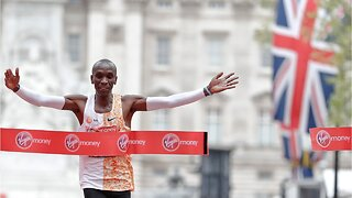 Eliud Kipchoge wins London Marathon again