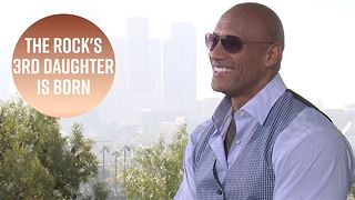 All the deets on Dwayne Johnson's newborn daughter - Video