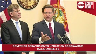 Florida Gov. Ron DeSantis holds news conference Thursday to discuss coronavirus