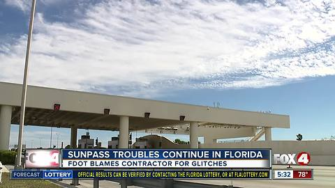 SunPass issues continue to plague the state
