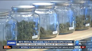 Medical marijuana sales surpass expectations - Video