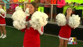 Friday Night Frenzy: Fairfield cheerleaders pump up crowd - Video