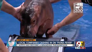 Fiona the brand grows along with Fiona the hippo - Video