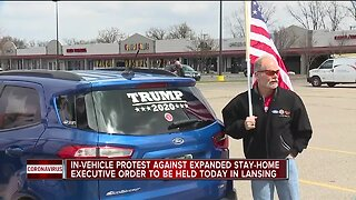 In-vehicle protest against expanded stay-at-home order to be held today in Lansing