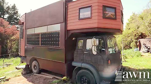 Don't Let This Trailer Fool You, With The Press Of A Button It Turns Into A Mansion
