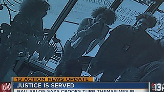 UPDATE: Nail salon owner says teens turned themselves in after violent theft - Video