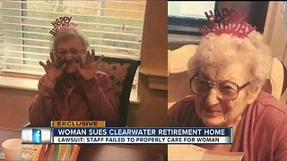 Lawsuit: 95-year-old Alzheimer's patient exposed to feces, not given proper medication - Video