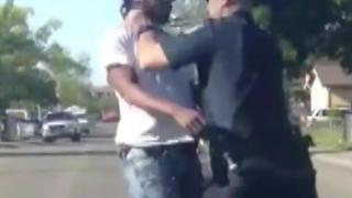 Sacramento Man Beaten By Police Officer - Video