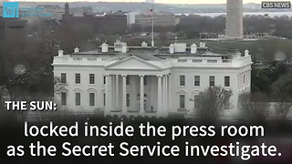 White House On Lockdown Following Discovery Of Mysterious Package - Video