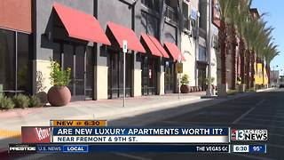 Grand opening at Fremont9 luxury apartments in downtown Las Vegas