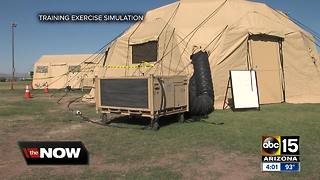 Arizona agencies take part in exercise in event of post-quake exodus from California