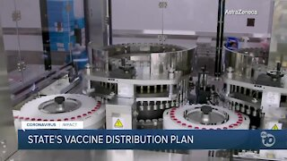 Newsom outlines state's vaccine distribution plan