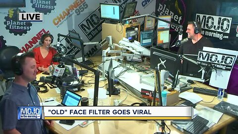 Mojo in the Morning: 'Old' face filter goes viral