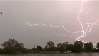 Lightning Strikes Seen in Pennsylvania as Storms Batter US Northeast - Video