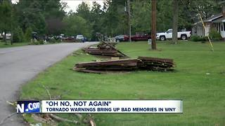 A month after tornado, Hamburg residents heed weather warnings - Video