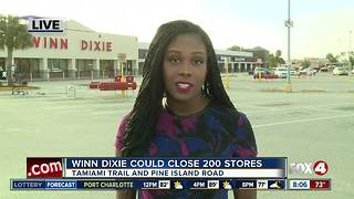 Winn-Dixie is considering bankruptcy and could close 200 stores - Video