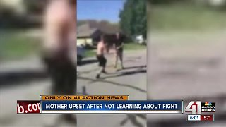 BS mom says school never notified her of fight