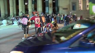 25-year-old woman charged for hitting Niagara Square protester with truck