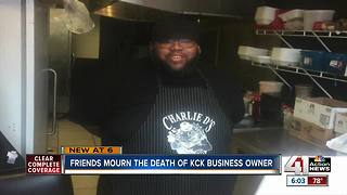Friends mourn KCK business owner killed in shooting - Video