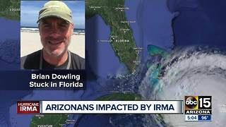 Arizona families feeling effects of Hurricane Irma - Video