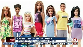 Barbie is getting more inclusive