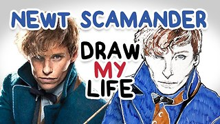Newt Scamander || Fantastic Beasts || Draw My Life - Video