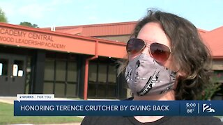 Honoring Terence Crutcher by giving back