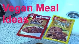 Vegan Meal Ideas Quick and Easy